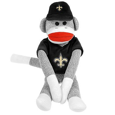 NFL Football 2014 Team Logo Sock Monkey Christmas Tree Ornaments  - Football Christmas Ornaments