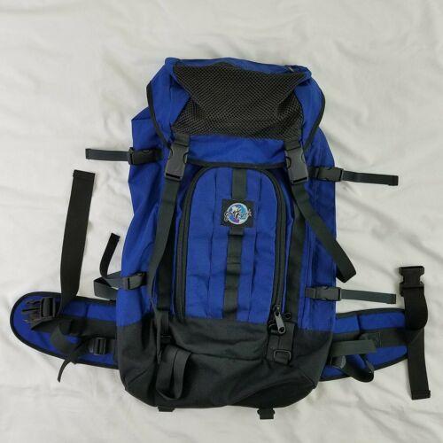 Eagle Creek Hiking Backpack Outdoor Travel Lumbar Top Loading Blue Camping