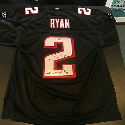 Matt Ryan 2008 Rookie Of Year Signed Authentic Atlanta Falcons Jersey PSA DNA  Matt Ryan Authentic Jersey