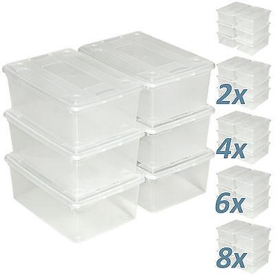 kel stapelbar Aufbewahrungsbox Kunststoffbox (Aufbewahrungsboxen Mit Deckel)