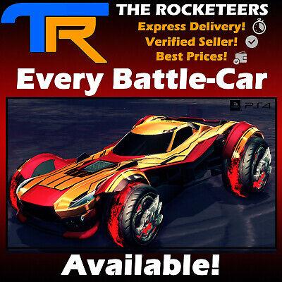 Ps4 Psn Rocket League Every Default Battle Car Fennec Zsr Gt Sentinel Gp Etc Us Polybull Com