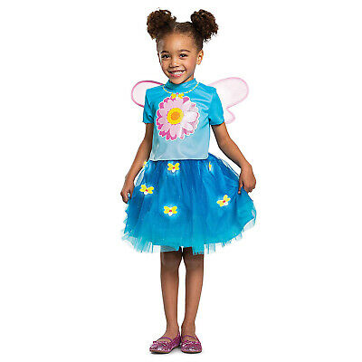 Abby Cadabby Halloween Costume (Girls DELUXE Sesame Street Abby Cadabby Halloween Costume Light Up Dress)