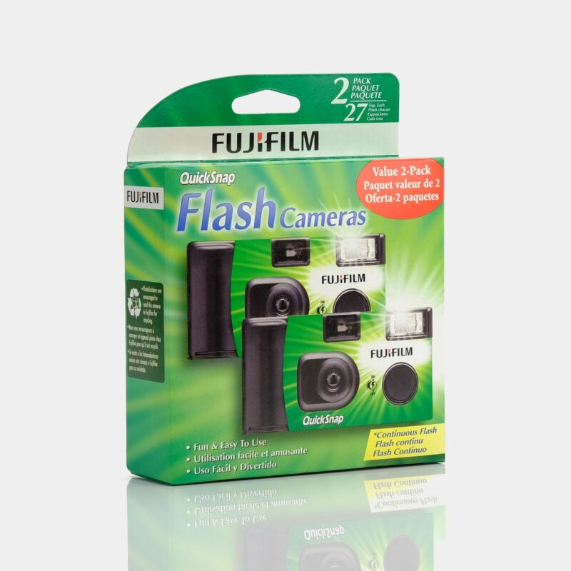 Fujifilm Disposable 35mm Film Camera 2 Pack