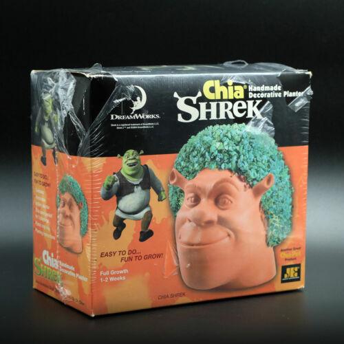 DreamWorks Shreck Chia Pet Decorative Planter Head Joseph Enterprises in Box
