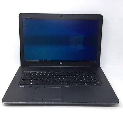 HP ZBook 17 G3 i7 32GB RAM; 512GB SSD Quadro M3000M Mobile Workstation - 3811