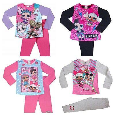 Lol Surprise Mädchen Langarm Pyjama Schlafanzug Satz - Größen 4 - 10 Jahre (Mädchen Schlafanzug Größe 10)