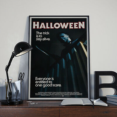 Movie Film Poster Print Picture A3 A4 (Halloween 4 Film-poster)