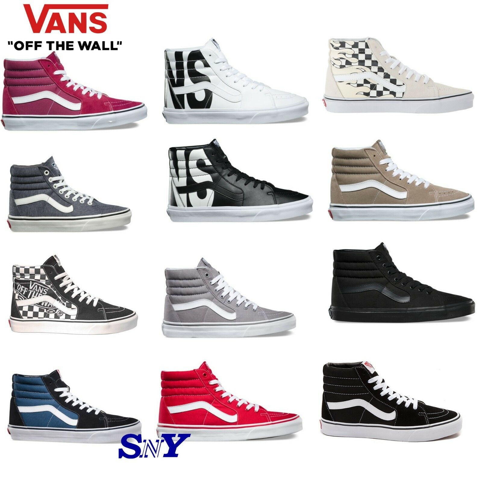 VANS SK8-HI hi top sneakers athletic skate walking shoes uni