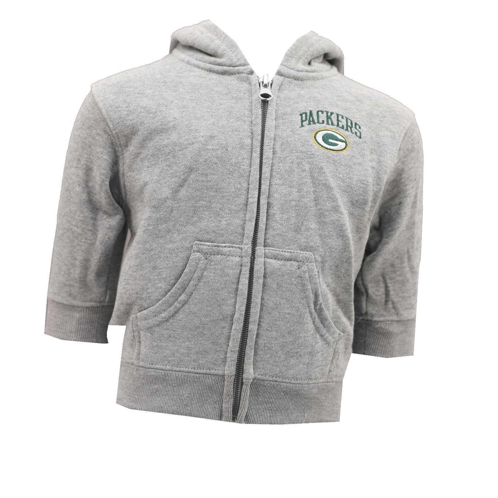 5e72c27a1 Details about Green Bay Packers NFL Official Baby Infant Zip Up Hooded  Sweatshirt New Tags