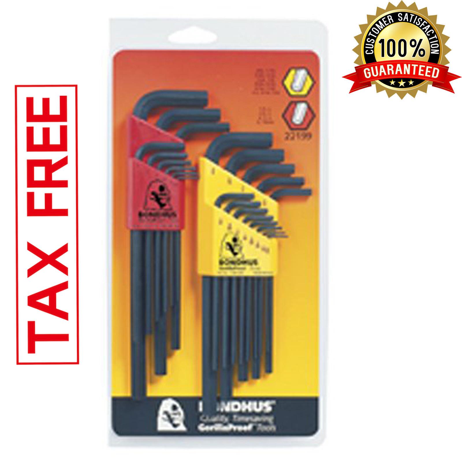 Hex Key Allen Sae Metric Wrench Bit Kit Long Socket Tool L W