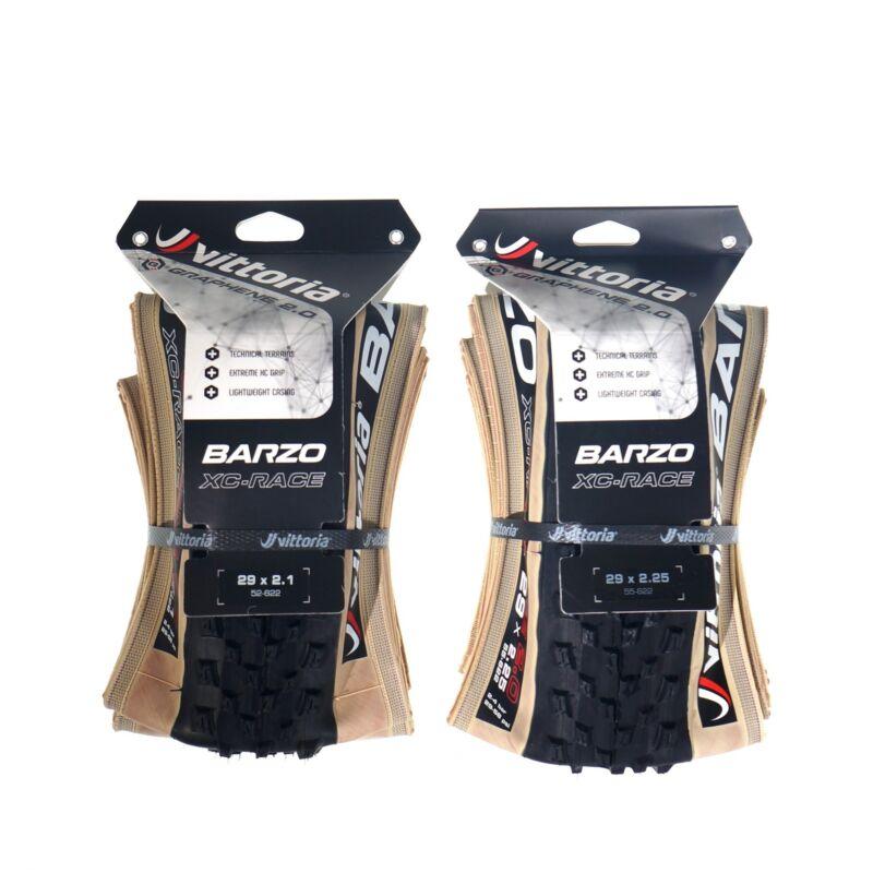 "Vittoria Barzo  G2.0 4C XC-Race /TNT 29x2.1""/29x2.25"" Folding TLR 1 or 2 tires"