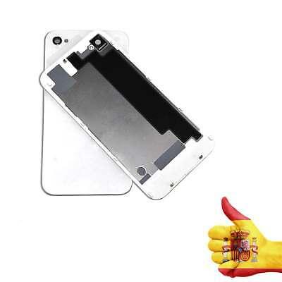 Tapa Trasera Blanca Para iPhone 4 4S Bateria Cristal Destornilladores