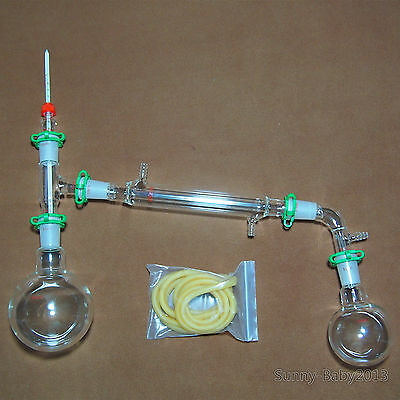 500ml2440new Lab Glassware Kitdistillation Apparatusamerican Grond Joint