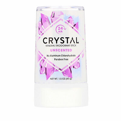 Sin Perfume Mineral Desodorante en Barra 40g Embarazo Sin Olor Hipoalergénico