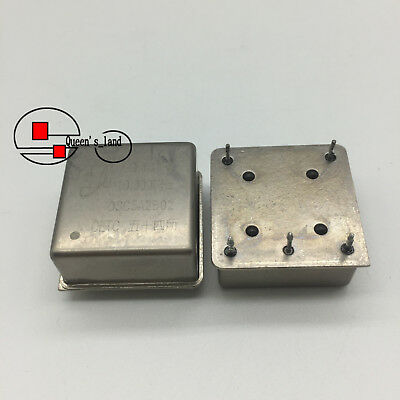 1×USED CETC CTI OSC5A2B02 10MHz 5V 26*26*12mm OCXO Crystal Oscillator