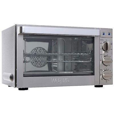 Waring Commercial Co1600wr Commercial Oven 1.5 Cubic Foot Convection Oven
