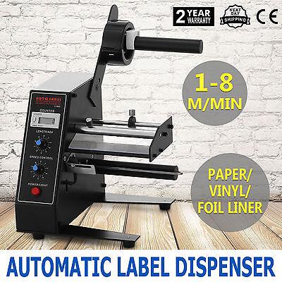 Auto Étiquette Distributeur Label Dispenser Automatique Électrique Séparant