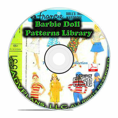 1000+ Patterns, Make Your Own Barbie Doll Clothes Classic