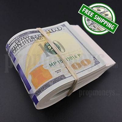THE BEST PROP MONEY - $10,000 - $10k - Blank Filler Fat Band Fake Movie Props