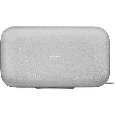 Google Home Max Multiroom Wi-Fi Speaker with Voice Recognition - Chalk Gray