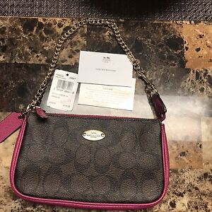 Brand new with tags coach clutch
