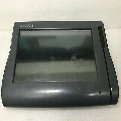 Micros Workstation 4 Lx Ws4 Pos Touchscreen Terminal 400714-001 Unit Only Read