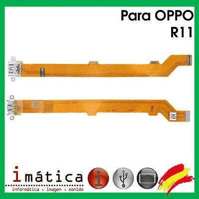 Platte Laden- Für Oppo R11 Connector USB Antenne Mikrofon Vibrator Flex