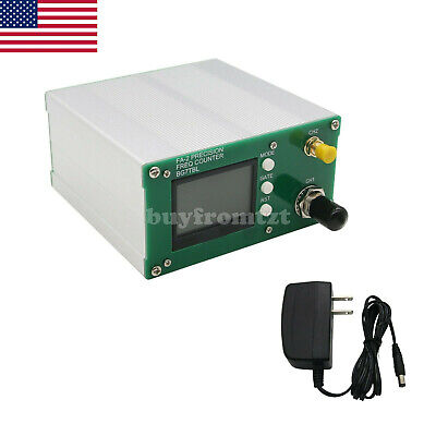 Fa-2 1hz-6ghz Frequency Counter Frequency Meter 11 Bitssec Power Adapter Us