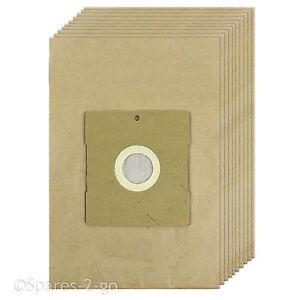 10 x Vacuum Cleaner Dust Filtered Paper Bags For LG Hoover Bag