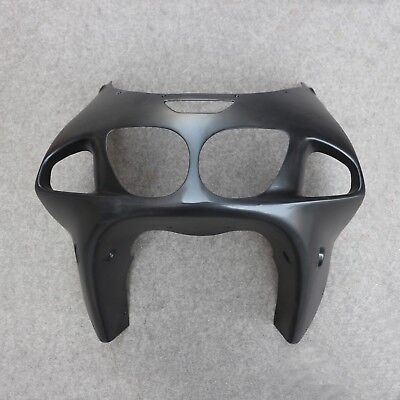 Used, Front Upper Fairing Headlight Cowl Nose Fit for Kawasaki Ninja ZX7R 1996-2003 for sale  Shipping to Canada
