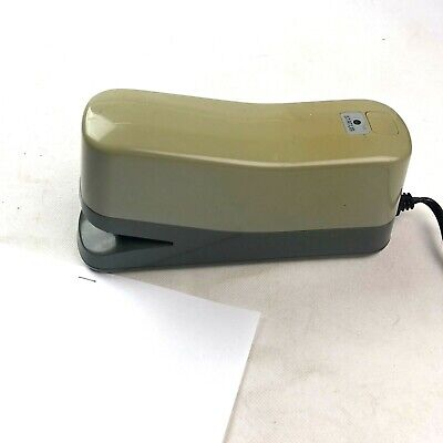 Panasonic Electric Stapler As-302nn Automatic Heavy Duty Quiet Stapler Tested