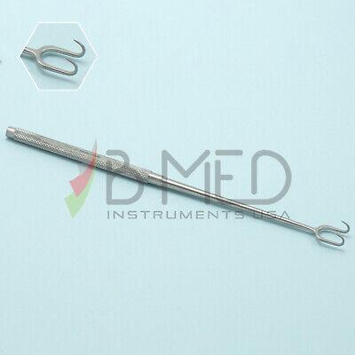Or Grade Joseph Skin Hook Set 2 Prongs Sharp 10mm Plastic Surgery Surgical Ent