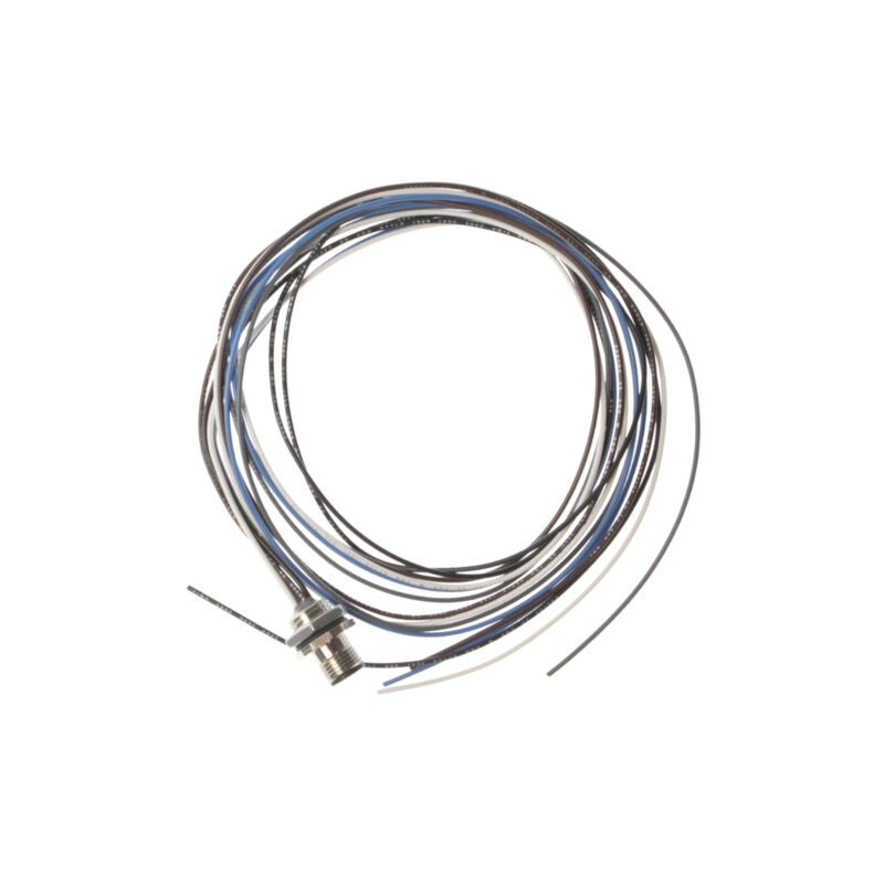 MENCOM MDC-5MR-4-1M MICRODC M12 MALE RECEPTACLE 5-PIN CABLE ASSEMBLY, 1-METER