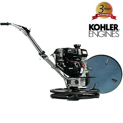Power Trowel 6hp Kohler 24 Float Pan Screed Edge Cement Concrete Finishing Tool