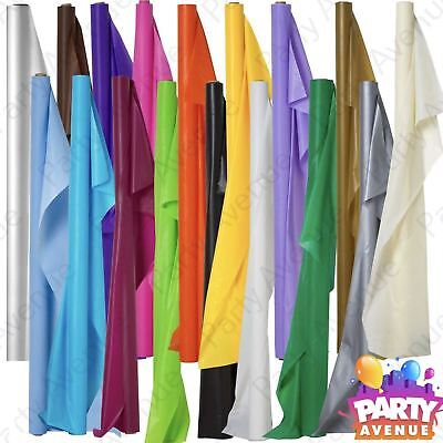 100ft Plastic Banquet Roll Party Wedding Catering Table Cover Cloth Amscan - Amscan Tablecloths