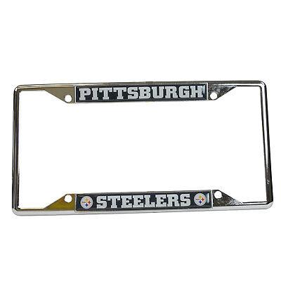 New NFL Pittsburgh Steelers Car Truck Premium Chrome Metal L