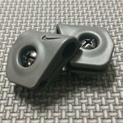 NIKE Football Helmet Visor Eye Shield Installation Clips / Hardware (Visor Clips)
