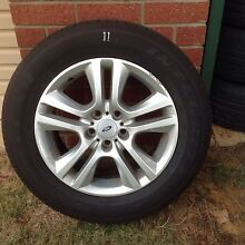 Ref 11 ford territory 235/60/17 rims and tyres Kelmscott Armadale Area Preview