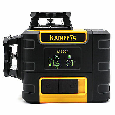 Kaiweets Laser Level 3 X 360 Green Line Self-leveling Construction Laser Oem