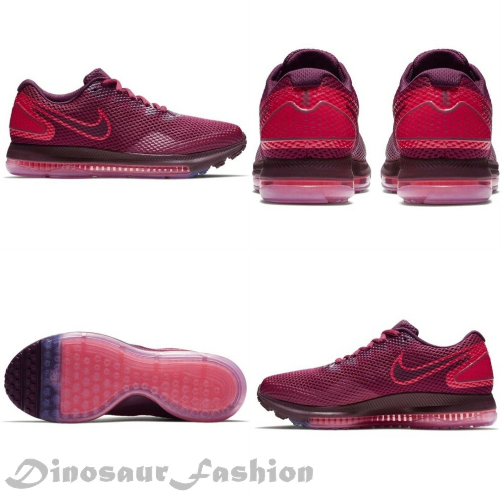 WOMEN'S NIKE ZOOM ALL OUT LOW 2  RUSH MARROON,Running Shoes.NWB