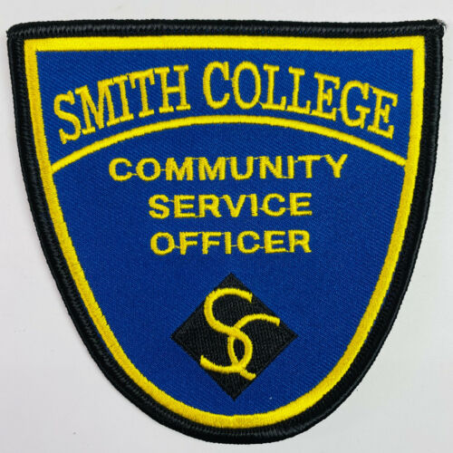 Smith College Community Service Officer Northampton Massachusetts MA Patch (A3)