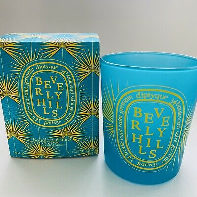 Diptyque Beverly Hills Empty Candle Jar & Original Box