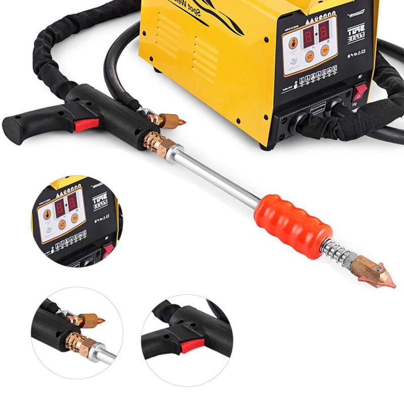 110V G90E Vehicle Panel Spot Repair Puller Dent Repair Welder Bonnet Door 3KW