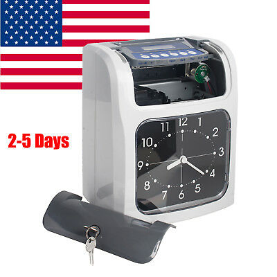 Electronic Employee Analogue Time Recorder Time Clock Time Attendance Machine Us