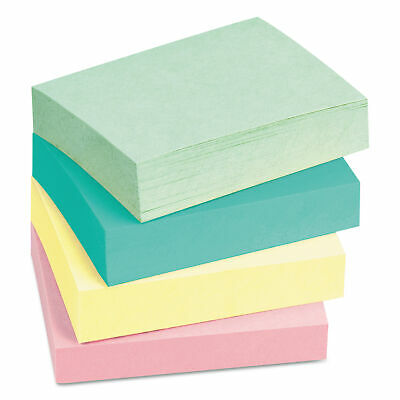 Post-it Notes 3 X 5 Five Pastel Colors 5 100-sheet Padspack Pk - Mmm655ast