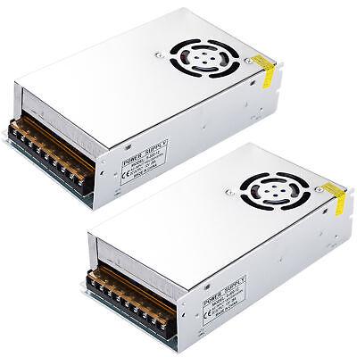 2x Ac100-240v To Dc 12v 25a 300w Volt Transformer Switch Power Supply Converter