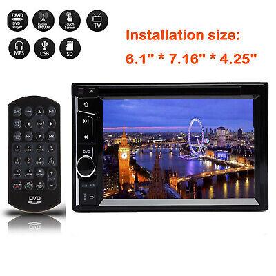 6.2'' 2DIN Car Stereo DVD Player Radio FM For Vauxhall Opel Vivaro/Astra H/Corsa