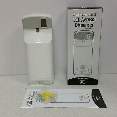 TC Autofresh Select LCD Meter Mist 3000 LCD Aerosol Wall Dispenser 400979 Zep ()