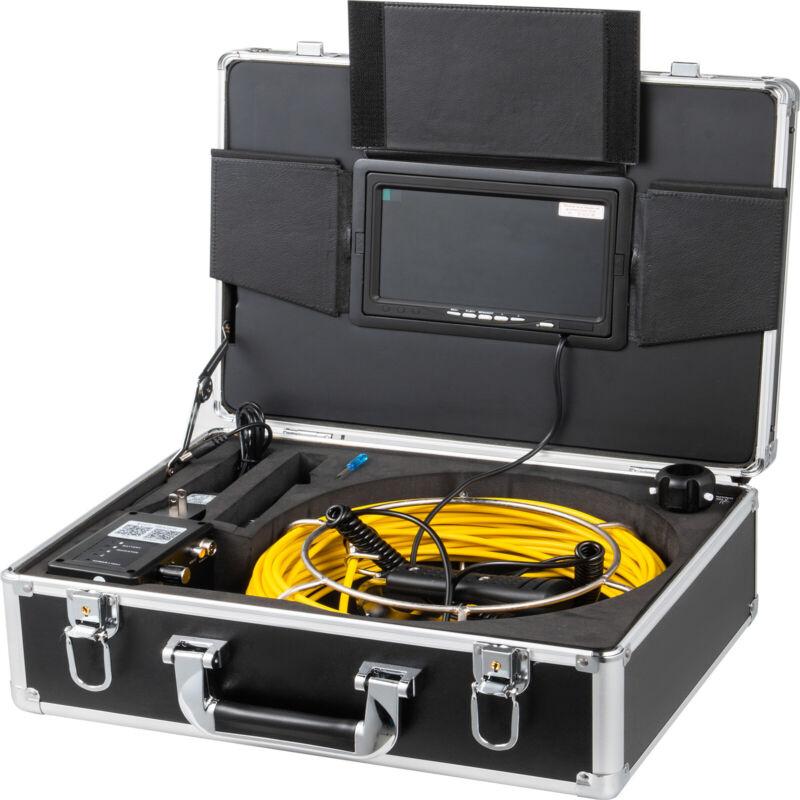 """7"""" LCD Pipe Inspection Pipeline Drain Sewer Waterproof Camera 20M Wifi 16G w/DVR"""