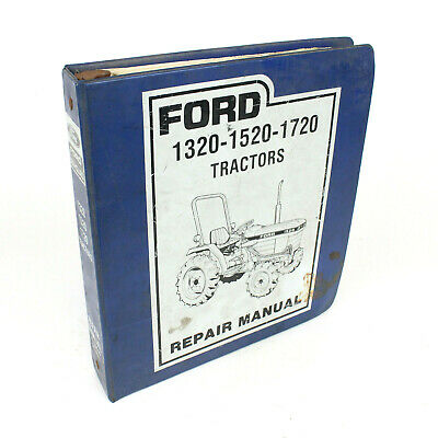 New Holland Ford 1320 1520 1720 Tractor Service Shop Repair Manual Book 40132030